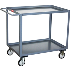"MOBILE CART WORKSTATIONS- 2-sided mobile cart work station, 34 x 24 x 34"" Size WxDxH H662-95, cart, cabinet, mobile cart, mobile cabinet, workstation, mobile"