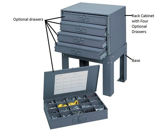 "COMPARTMENT BOXES- Small Drawers, Drawer Measurements WxDxH 13-3/8 x 9-1/4 x 2"", No. of Compartments Adjustable"
