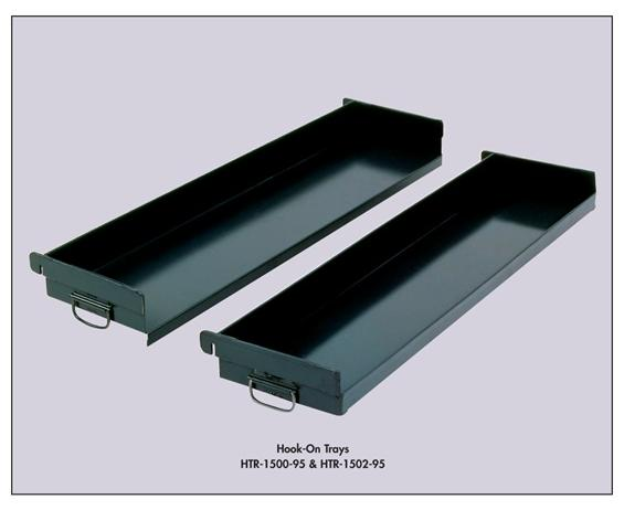 "ADJUST-A-TRAY TRUCK - HOOK-ON TRAYS- 3"" closed front, 36 x 15 x 6"" Size WxDxH, 14-6"" Tray Cap."