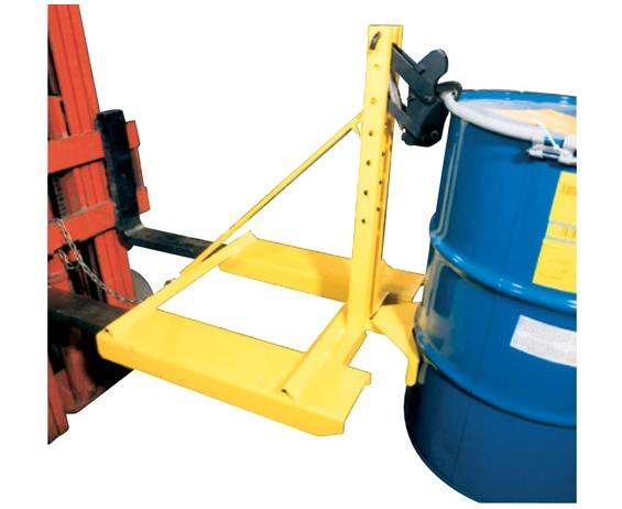 "EAGLE-GRIPâ""¢ 1 SERIES ATTACHMENTS- Non-Sparking Jaws No, Belt Cradle No, Cap. (lbs.) 750, Size HxLxW 35 x 34 x 31"", Drums Handled 1, Fork Mount"