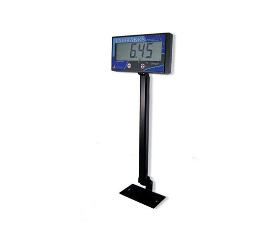 "ULTEGRA® BENCH SCALE LINE - OPTIONS- Stand for Display 18"" tall, Black"