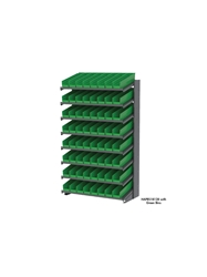 "BIN PICK RACK SYSTEMS - 18""D- Double Sided - 16 Shelves w/30158 Shelf Bins, Yellow, 39 x 36-3/4 x 60-1/4"", 72 Bins"