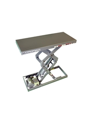 "AMERICAN COMPACT SCISSORS LIFT- 25"" Travel, 30"" Raised Height, 500 Cap. (lbs.)"
