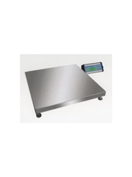 "MEDIUM PLATFORM DIGITAL BENCH SCALES- 75 lb. x 0.02 lb./35 kg. x 10 g. <br> 1200 oz. x 0.5 oz./74 lb.:16 oz. x 1 oz., 20"" x 20"""