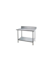 KMS SERIES STAINLESS STEEL WORKTABLES- 30 x 48 x 35-1/2""