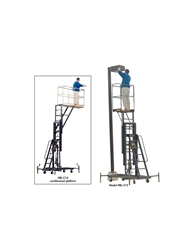 "300 LB. ONE PERSON MAINTENANCE LIFT- 14 Platform Height Max., 64 x 20"" Platform LxW"