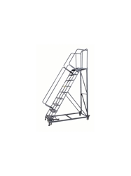 "MONSTER LINE LADDERS- Perforated Step, 113"" Overall Height"