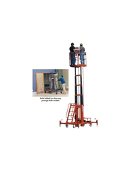 500 LB. TWO PERSON LIFT- 15 Platform Max., 21 Working Height