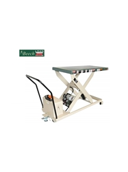 "PORTABLE SCISSOR LIFT TABLES- RP-36 Series 36"" Travel, 46"" Raised Height, 24 x 48"" Platform Size WxL, 750 Cap. (lbs)"