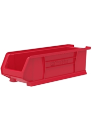 "SUPER-SIZE AKRO BINS- Red, 23-7/8 x 8-1/4 x 7"", 200 Capacity (lbs)"