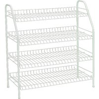 813100 ClosetMaid 4-Tier Freestanding Shoe Rack rack shoe