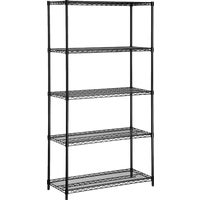 SHF-01440 Honey Can Do 5-Tier Heavy-Duty Steel Shelving shelving steel