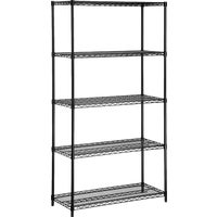 SHF-01442 Honey Can Do 5-Tier Standard Duty Steel Shelving shelving steel