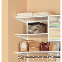 7313142411 Organized Living FreedomRail Melamine Closet Shelf closet shelf