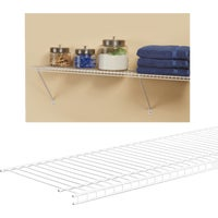 471400 ClosetMaid SuperSlide Ventilated Closet Shelf closet shelf