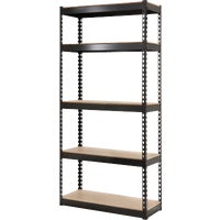 341472 L-Beam 5-Tier Steel Shelving shelving steel