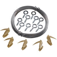 122395 Hillman Anchor Wire Wallbiter Picture Hanging Kit 122395, Wallbiter Picture Hanging Kit