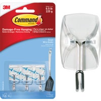 17067CLR-ES-3PK 3M Command Clear Wire Adhesive Hook adhesive hook