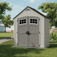 BMS7400 Suncast Cascade 171 Cu. Ft. Blow Molded Resin Storage Shed shed storage