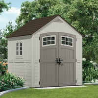 BMS7790 Suncast Cascade 322 Cu. Ft. Blow Molded Resin Storage Shed shed storage