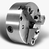 "1034-2000 3 Jaw Self-Centering Iron Body Chuck - Med. Duty - 10"" Dia. - Flat Back - Pratt Burnerd 1034-2000"
