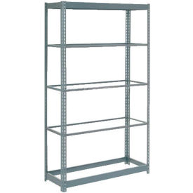 "255400 Heavy Duty Shelving 36""W x 12""D x 60""H With 5 Shelves, No Deck"