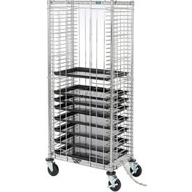 nexel® side load wire tray truck with 39 tray capacity Nexel® Side Load Wire Tray Truck with 39 Tray Capacity
