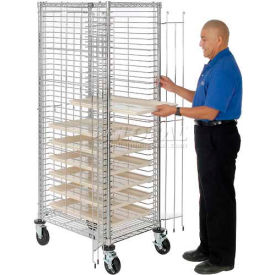 nexel® end load wire tray truck with 39 tray capacity Nexel® End Load Wire Tray Truck with 39 Tray Capacity