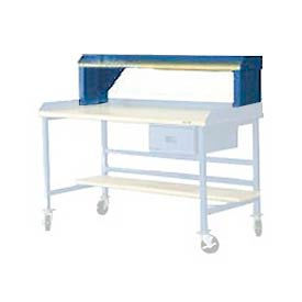 "R12626-BL 72"" Shop Top Riser - Blue"