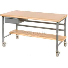 "DRW-S-GY 15""W X 20""D X 6""H Bench Drawer - Gray"