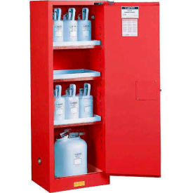 892201 Paint & Ink Cabinet With Manual Close Single Door 22 Gallon