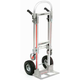 GMK16UA4 Magliner; Gemini Junior 2-in-1 Convertible Hand Truck - GMK16UA4 - Pneumatic Wheels
