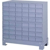 "017-95 Durham Steel Drawer Cabinet 017-95 - With 48 Drawers 34-1/8""W x 12-1/4""D x 33-3/4""H"