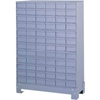 "019-95 Durham Steel Drawer Cabinet 019-95 - With 72 Drawers 34-1/8""W x 12-1/4""D x 48-1/8""H"