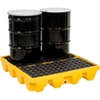 1645 Eagle 1645 4 Drum Low Profile Spill Containment Pallet