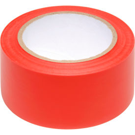 "PST312 INCOM; Safety Tape Solid Red, 3""W x 108L, 1 Roll"