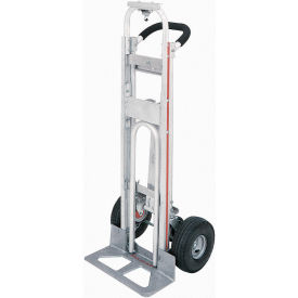 "TPAUA4 Magliner; TPAUA4 Aluminum 3-in-1 Hand Truck with 10"" Full Pneumatic Wheels"