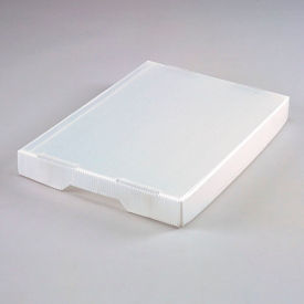 7532N Corrugated Plastic Tote Lid Natural