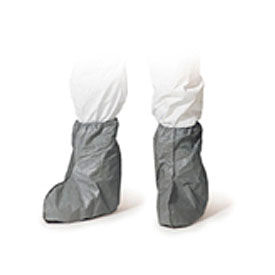"FC454SGY DuPont; Disposable Skid Resistant Tyvek; 18""H Boot Covers, 50 Pairs/Case"