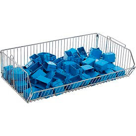 "832108 Stackable Wire Storage Bin, 36""W x 20""D x 9""H"