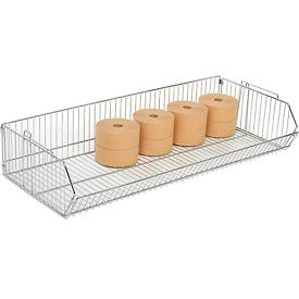 "832124 Stackable Wire Storage Bin, 48""W x 20""D x 9""H"