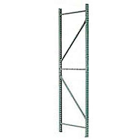IU18420144 Husky Rack & Wire IU18420144 Pallet Rack Tear Drop Upright Frame - 144x42