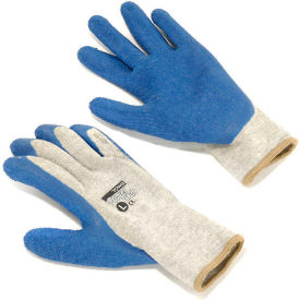 39-C1300/L PIP Latex Coated Cotton Gloves, Large - 12 Pairs/Pack