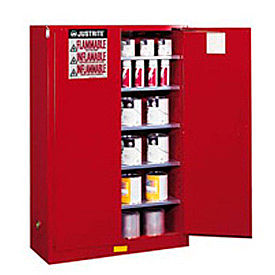 894511 Paint & Ink Cabinet With Manual Close Double Door 60 Gallon