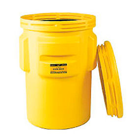 1690 Eagle 1690 95 Gallon Overpack Drum with Screw Top Lid