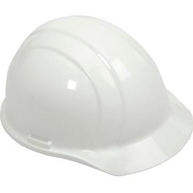 19761 ERB; 19761 Americana Hard Hat, 4-Point Pinlock Suspension, White