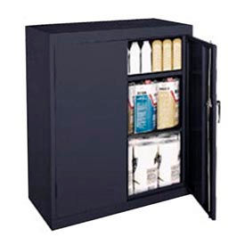 CA21361842-09 Sandusky Classic Series Counter Height Storage Cabinet CA21361842-09 - 36x18x42 Black