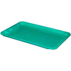 "Molded Fiberglass Toteline Nest and Stack Lid 780418 - 20-1/2"" x 12-7/8"", Pkg Qty 10, Green"