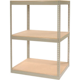 "130118 Record Storage Rack Without Boxes 42""W x 30""D x 60""H"