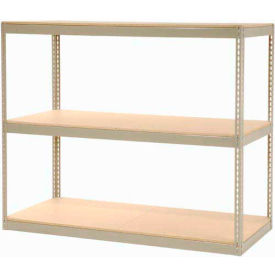 "130120 Record Storage Rack Without Boxes 72""W x 30""D x 60""H"